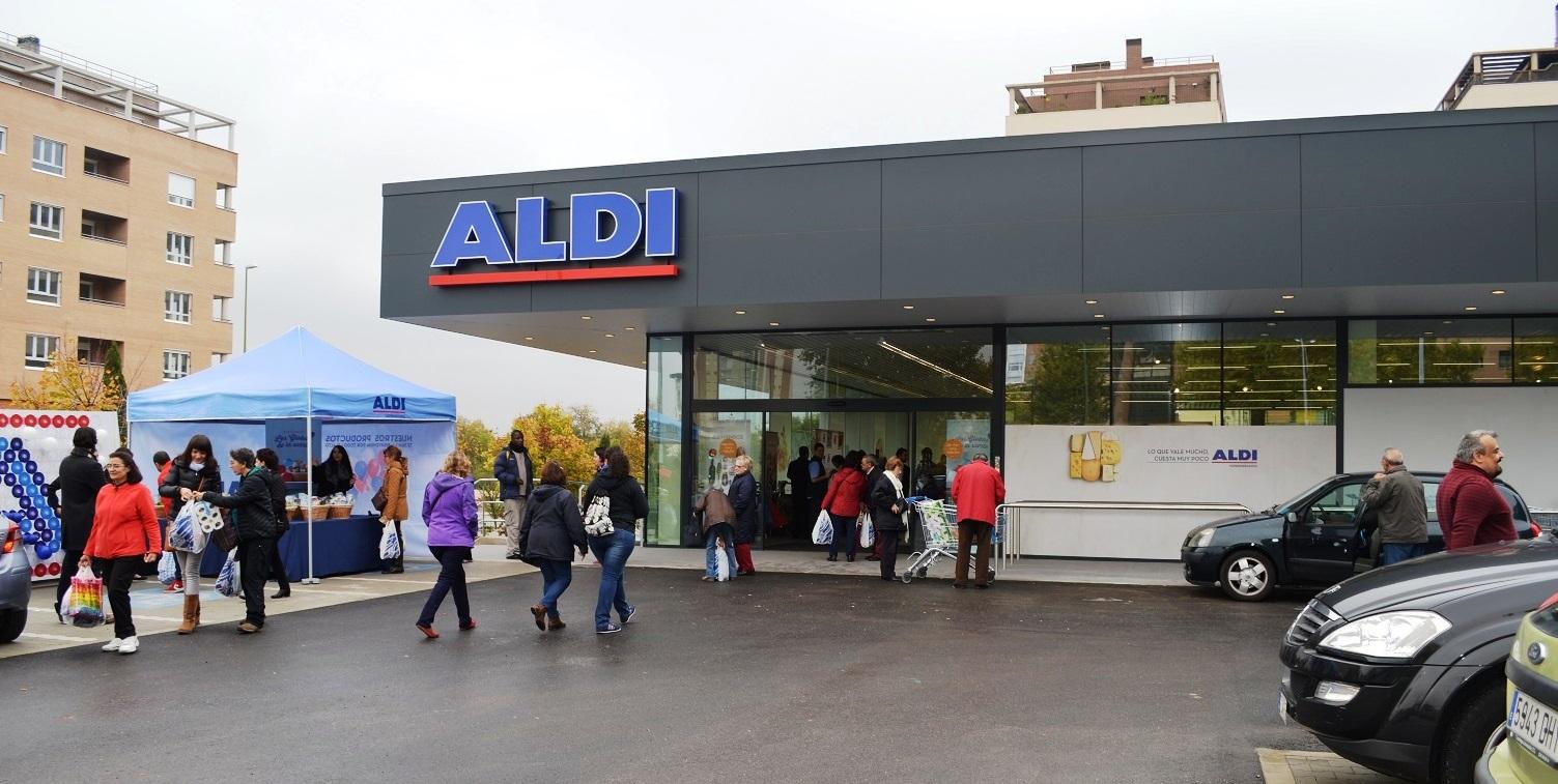 aldi abre un supermercado junto la avenida de la aviaci n. Black Bedroom Furniture Sets. Home Design Ideas