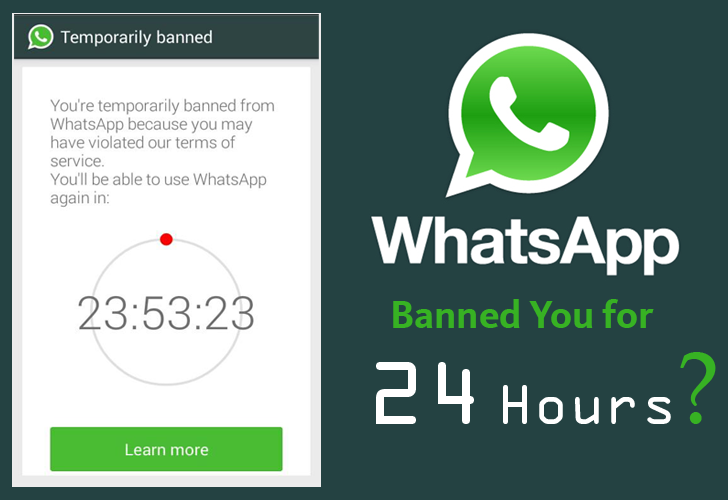 Whatsapp Banned Users For 24 Hours Who Are Using 3rd-Party WhatsApp PLUS App