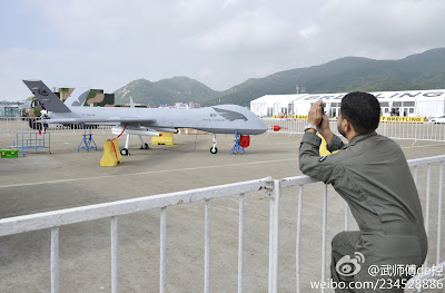 Chinese Wing Loong UCAV system From Zhuhai Airshow 2012