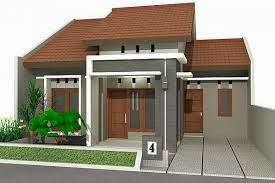 Desain Denah Rumah Minimalis Type 45 Sederhana