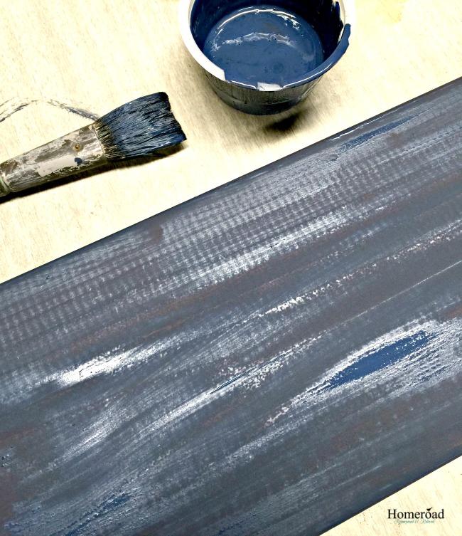 a destination sign and mixing chalk paint colors homeroad. Black Bedroom Furniture Sets. Home Design Ideas