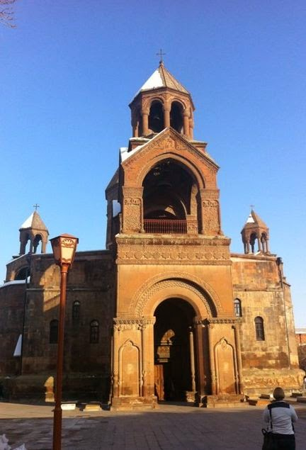 Etchmiadzin Cathedral, the Mother Church