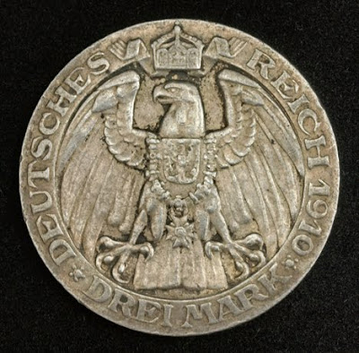 German States Coins Prussia 3 Mark buy sell Silver Commemorative coin