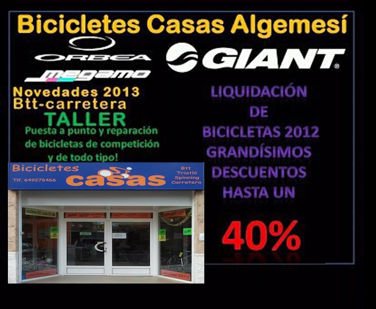 Bicicletes Casas