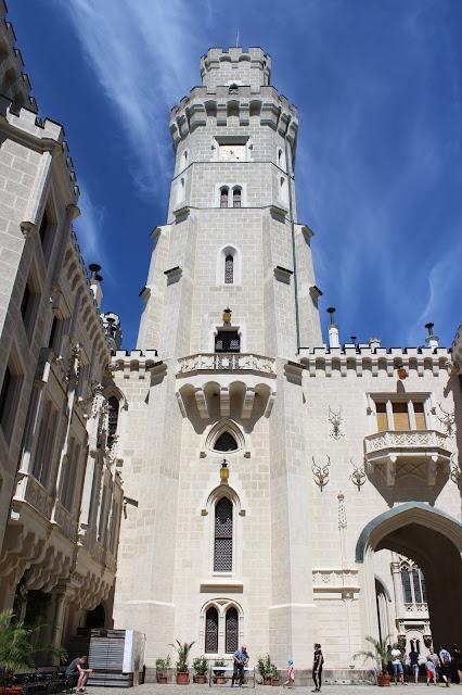 """Zámek Hluboká - věž // """"Hluboka"""" Castle - tower"""