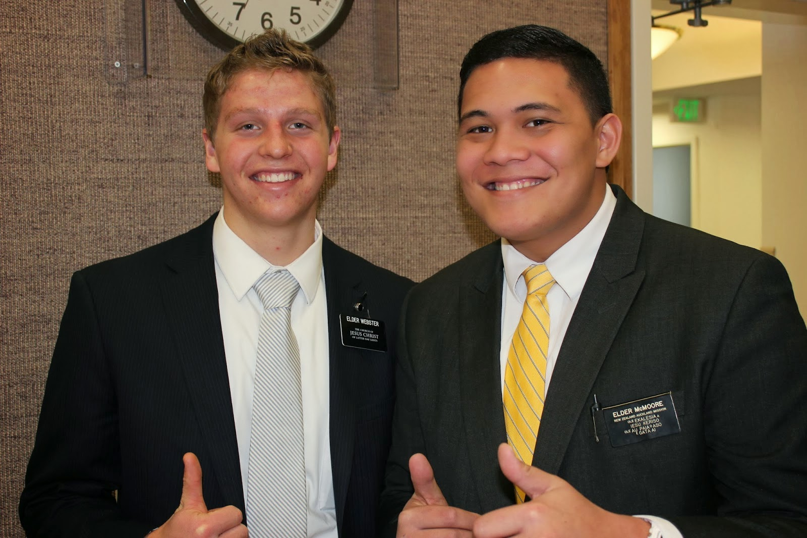 Elder Webster and I