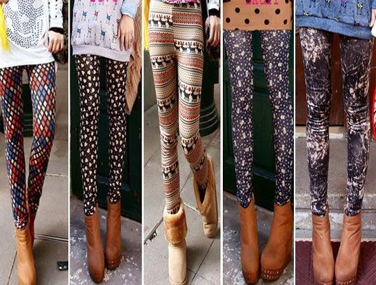 Trend Model Celana Legging Wanita Terkini