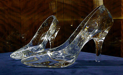Glass slippers by Glamhag via Flickr and a Creative Commons license