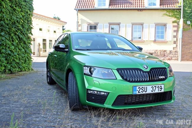 Skoda Octavia RS Front