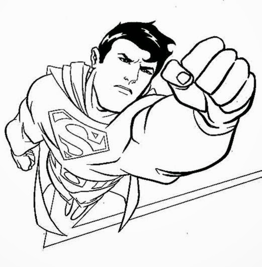 superman coloring pages print dudeindisneycom