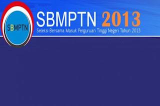 Informasi SBMPTN Tahun 2013