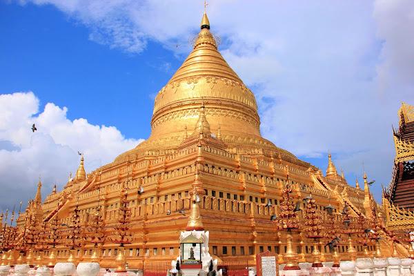 Pagoda Shwe Zi Gon Paya de Bagan
