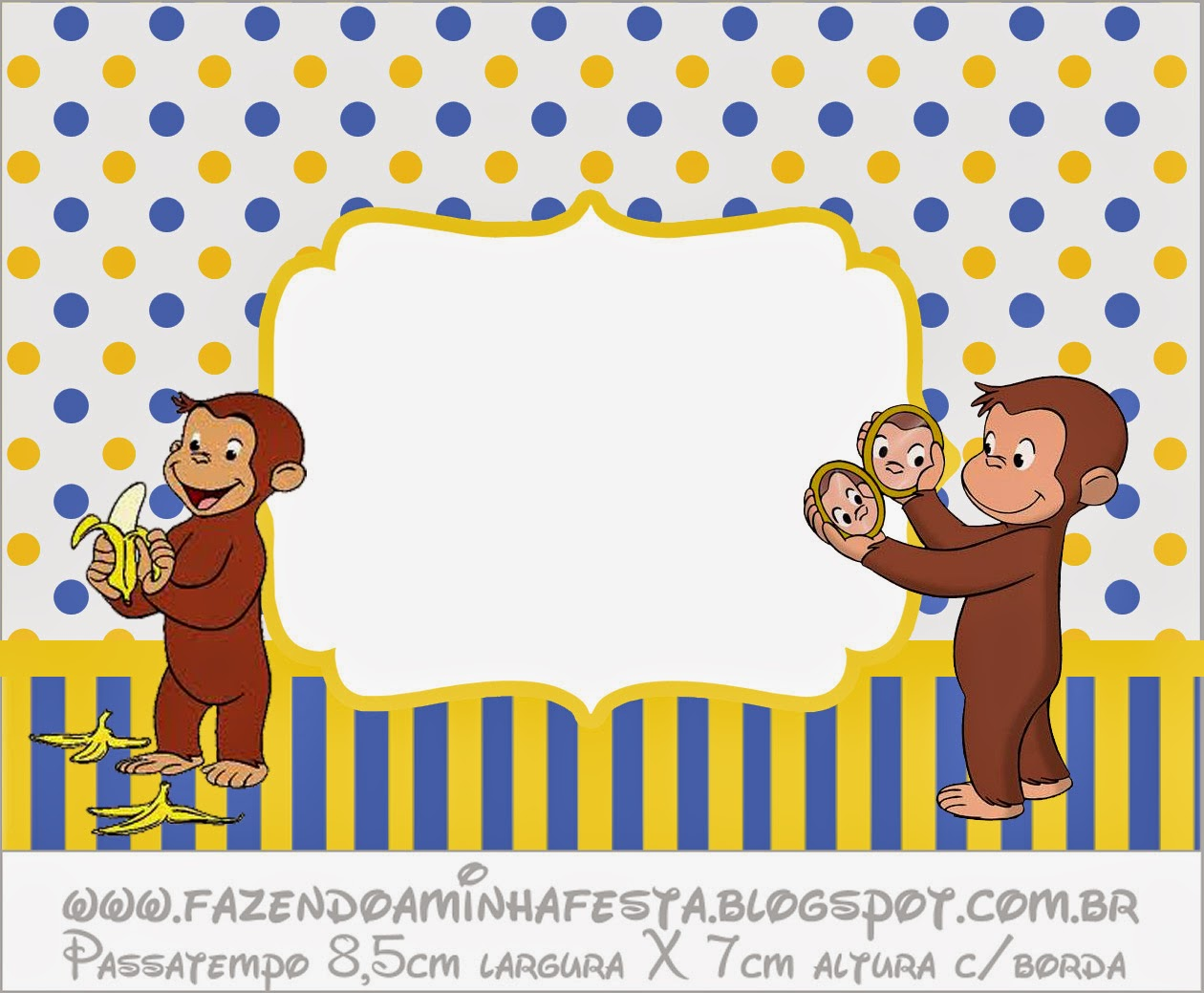 Curious george free printable candy bar labels oh my for Stickers infantiles