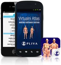 Virtualni atlas, aplikacija za iOS i Android