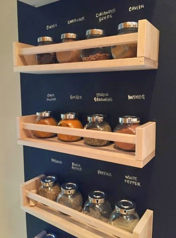18 ways to hack ikea spice racks do it yourself ideas
