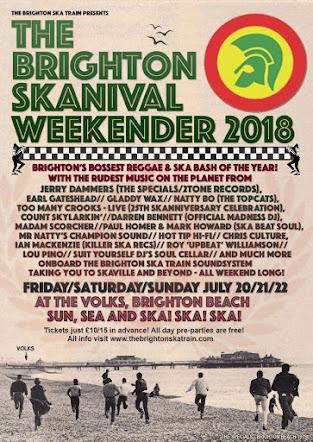 FRI 20 / SAT 21 / SUN 22 / JULY<br>The Brighton Skanival Weekender<br>The Volks Club, Brighton