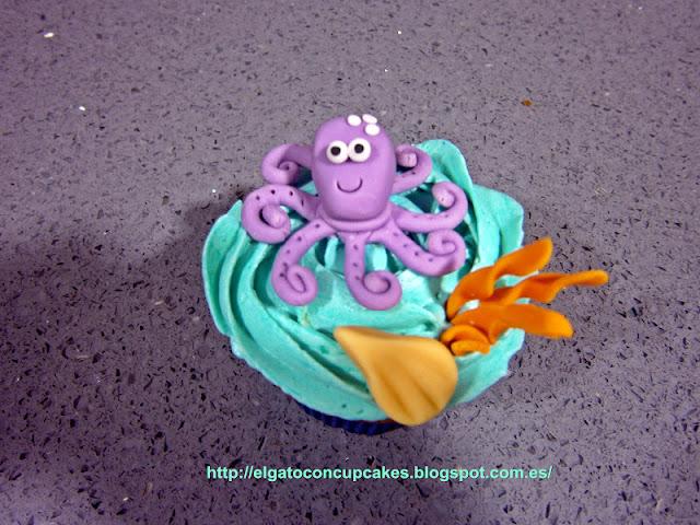 cupcakes pulpo