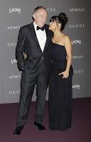 Salma Hayek with husband