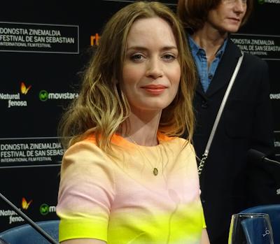 Emily Blunt - Rueda de prensa de Sicario