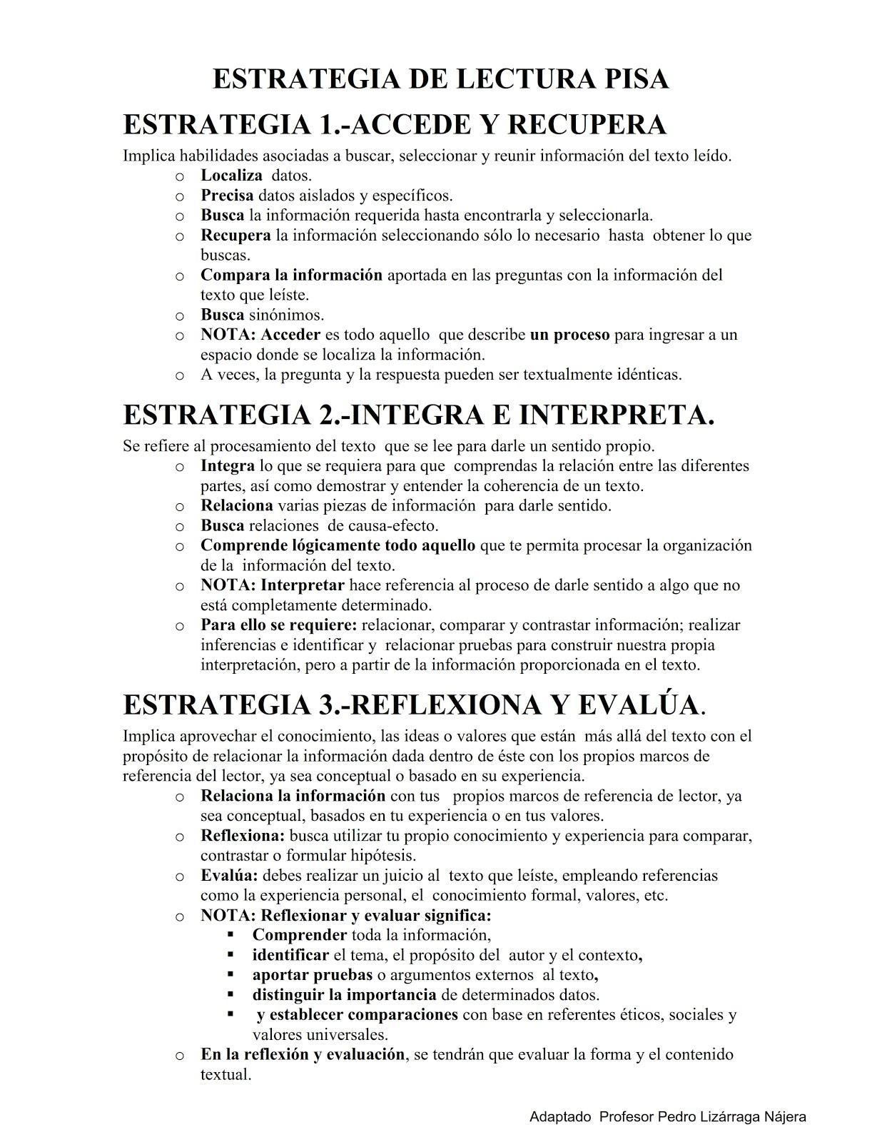 LEE  EL TEXTO Y APLICA ESTOS PASOS