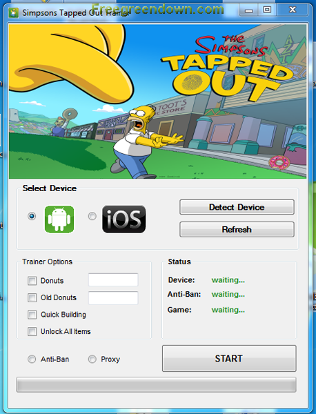 Download Hacks and Cheats for free: springfield hack