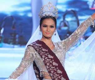 pictures video of Janine Tugonon national costume Philippines Miss Universe 2012