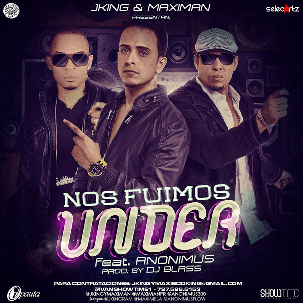Descarga: J-King & Maximan feat. Anonimus 'Nos Fuimos Under'