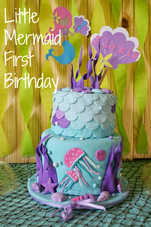 Under The Sea First Birthday Party The Simply Chic Mom