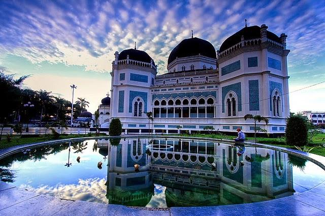 Trip Medan Mesjid raya