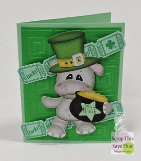 Green St. Patrick's Day Card