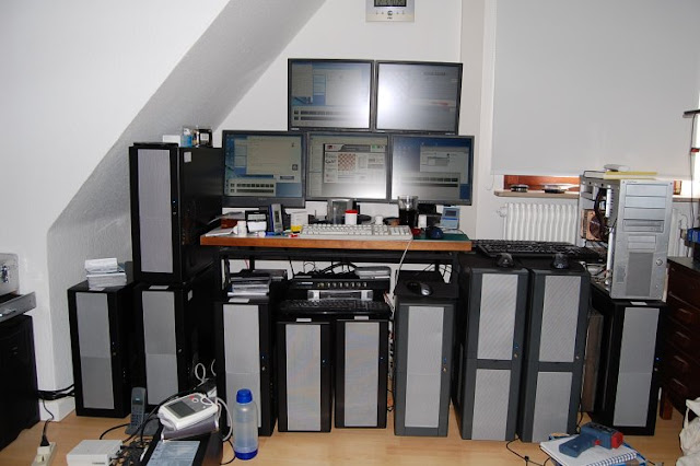 computer cluster  ماهو