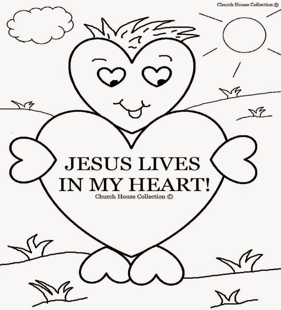 sunday school coloring pages printable - photo#3