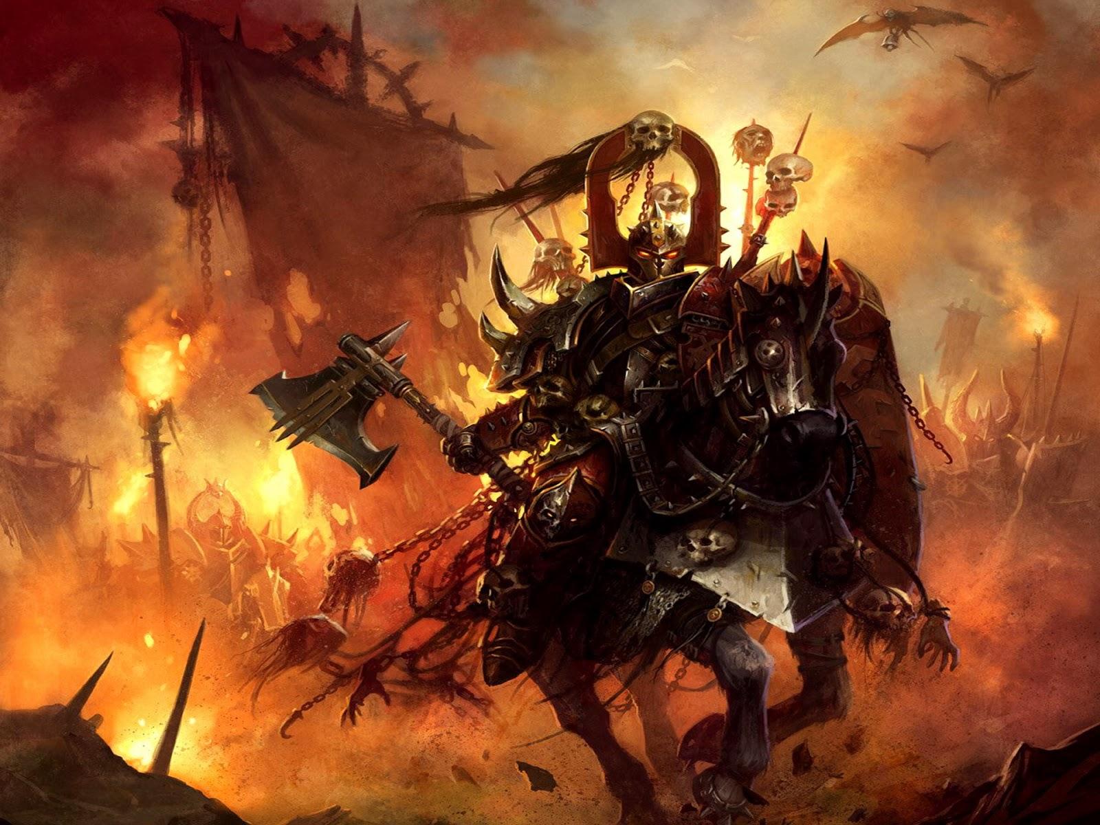 """Cheapest (?) """"Warhammer"""" Army: Khorne Bloodbound Daemonkin ..."""