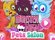 Monster High salon de Mascotas