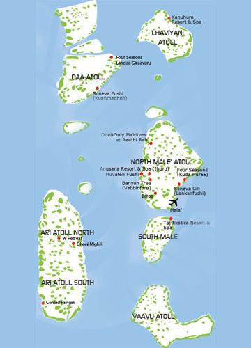Beauty Of Maldives Trawel India Mails - Maldives map india