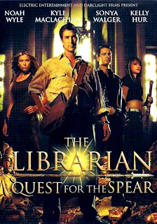 Ver online:El Bibliotecario 1 En busca de la lanza perdida (The Librarian: Quest for the Spear) 2004