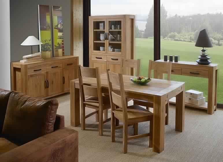 Salle manger en bois salle manger - Buffet de salle a manger en bois ...