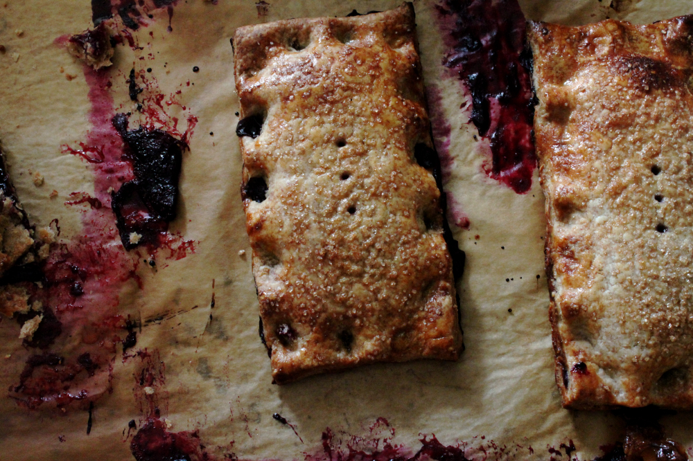 Tanglewood Baked Goods: Blueberry Hand Pies