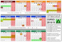 Calendario 18/19