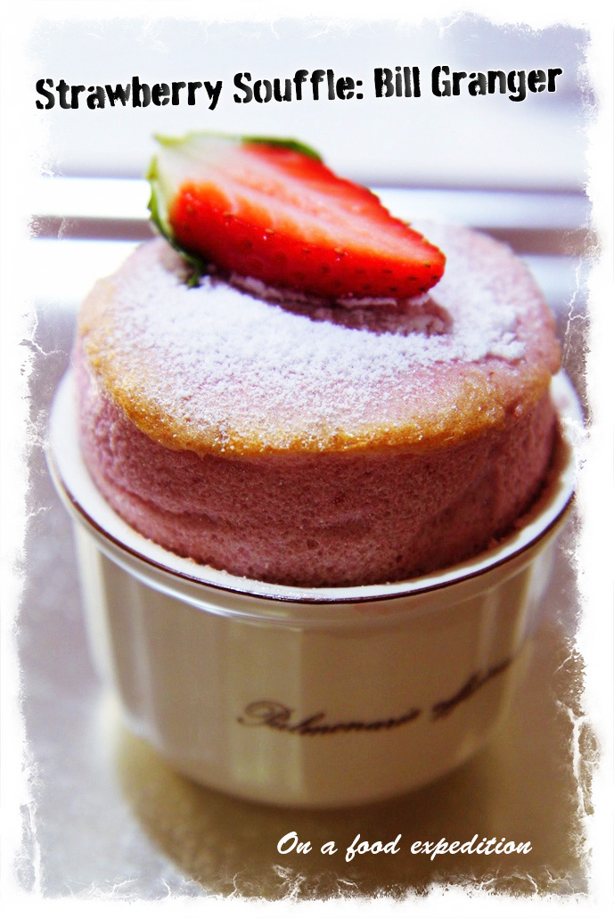 Strawberry Souffle - replace raspberry but same Bill Granger recipe