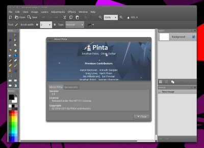 Installer Pinta 0.8 Dans Ubuntu, Maintenant Disponible Pour Natty