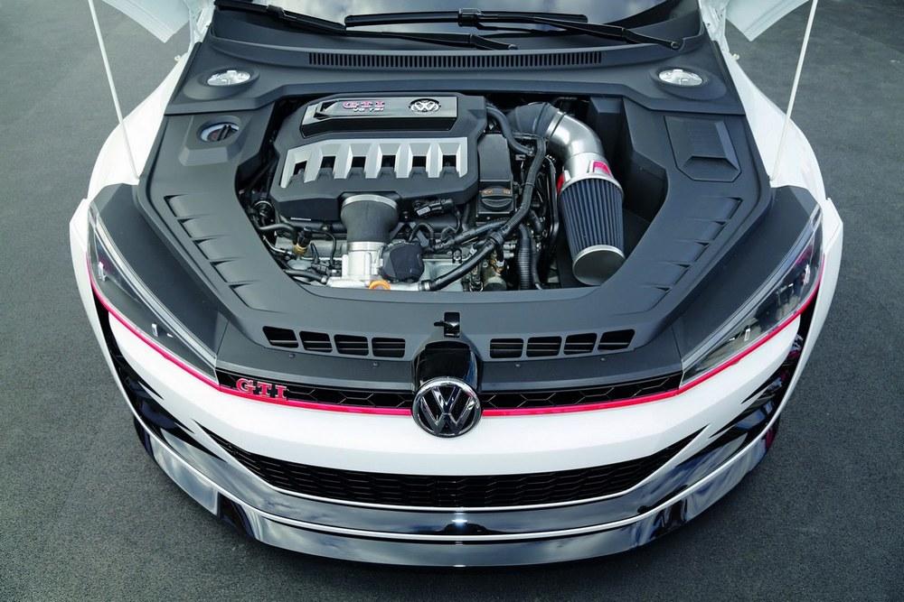 car in Volkswagen Golf Design Vision GTI 2013