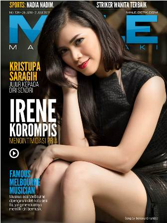 Download Gratis Majalah MALE Mata Lelaki Edisi 139 Cover Model Irene Korompis | MALE Mata Lelaki 140 Indonesia | Cover MALE 139 Irene Korompis - Mengintimidasi Pria | www.insight-zone.com