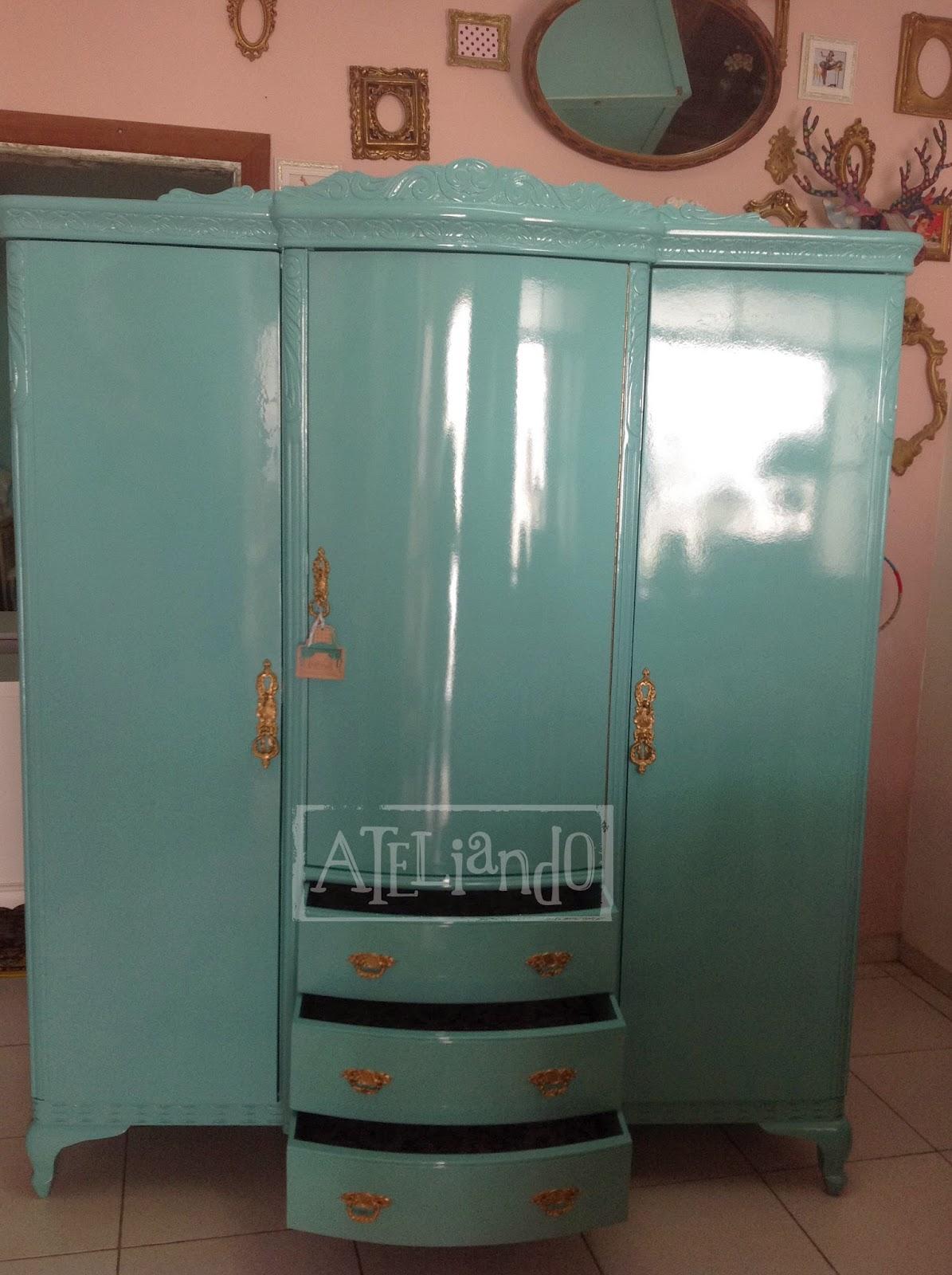 Ateliando Customização de móveis antigos: Do lixo ao luxo  #875544 1195x1600