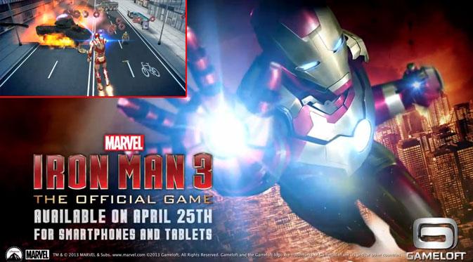 Iron Man 3 - The Official Game v1.0.0 (Apk + data | Rapidgator)