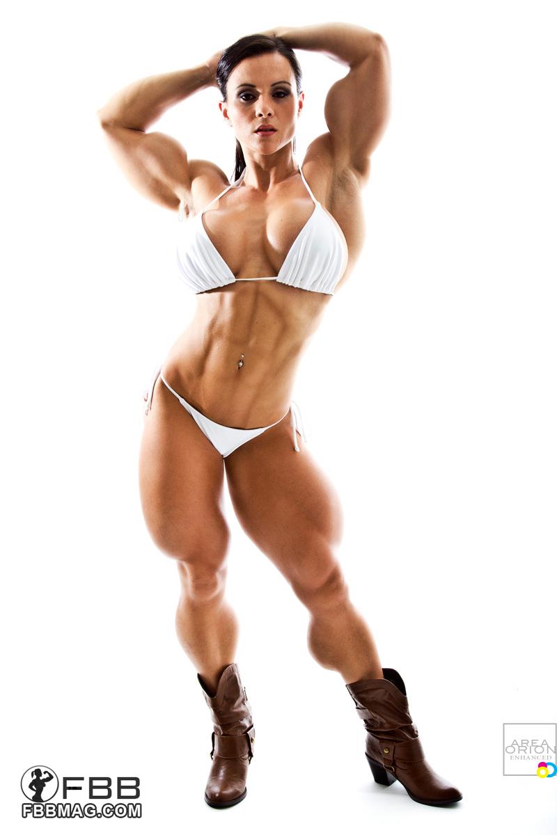 women muscle breast nude