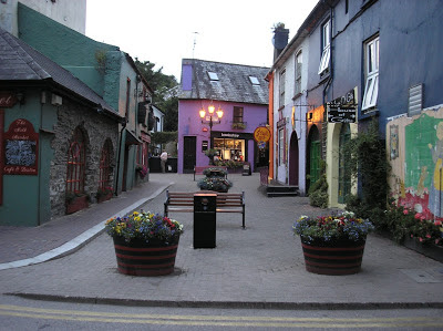 Kinsale street, Cork, Ireland