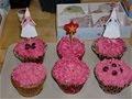 pink vainilla cupcakes