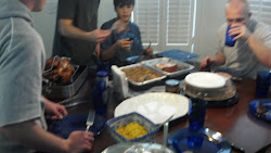 Thanksgiving at the Del Sontos