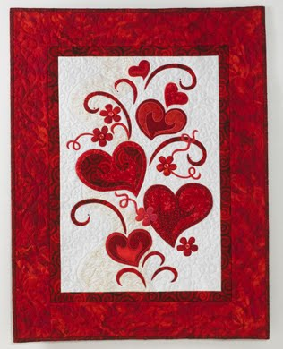 Valentine Quilt Patterns, Fall in Love! - Crafting Classes